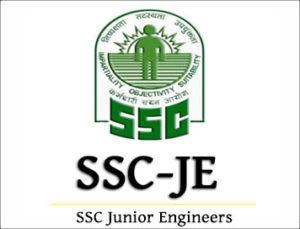 SSC Junior Engineer JE Online Form 2019